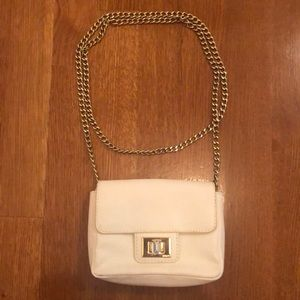 Juicy Couture Off White Mini Bag on a Chain